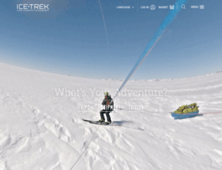 icetrek.com screenshot