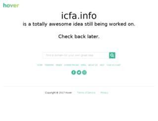 icfa.info screenshot