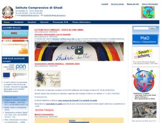 icghedi.gov.it screenshot
