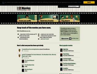 icheckmovies.com screenshot