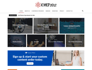 ichep2012.com.au screenshot