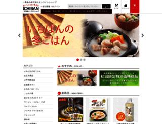 ichiban-foods.jp screenshot