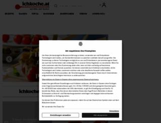 ichkoche.at screenshot