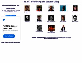 icir.org screenshot