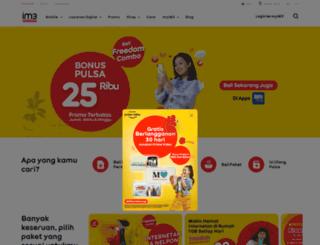 icity.indosat.com screenshot