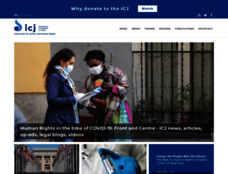 icj.org screenshot