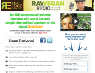 icke.rawveganradio.com screenshot