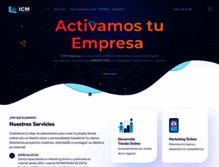 icmempresas.com screenshot