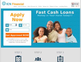 icn-financial.com screenshot