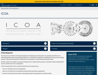 icoa.au.dk screenshot