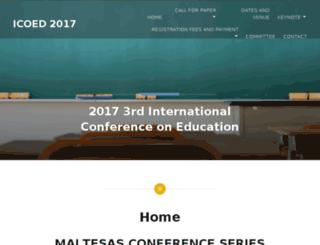 icoed.org screenshot