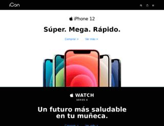 icon.co.cr screenshot