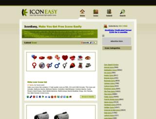 iconeasy.com screenshot