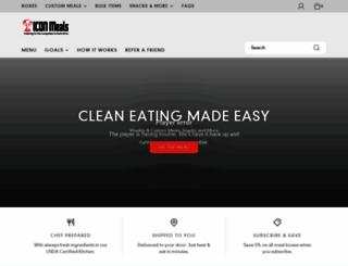 iconmeals.com screenshot