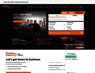 iconparkingsystems.com screenshot