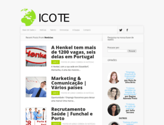 icote.pt screenshot