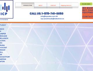 icpsales.com screenshot