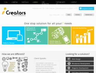 icreators.in screenshot