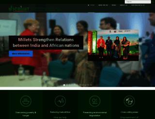 icrisat.org screenshot