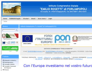 icrosetti.gov.it screenshot