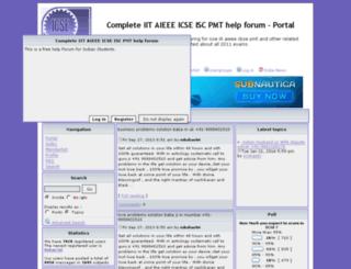 icse.fairtopic.com screenshot