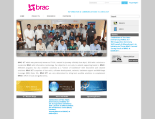 ict.brac.net screenshot