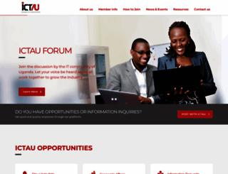 ictau.ug screenshot