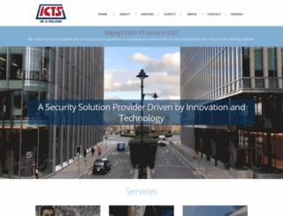 icts.co.uk screenshot