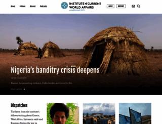 icwa.org screenshot