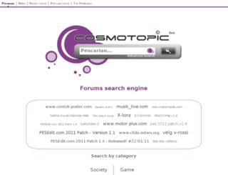 id.cosmotopic.org screenshot