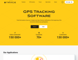 id.gps-trace.com screenshot