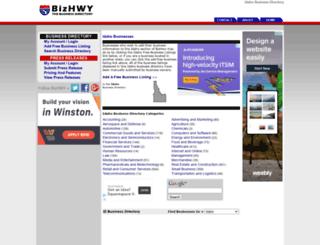 idaho.bizhwy.com screenshot