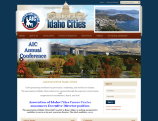 idahocities.org screenshot