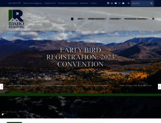 idahorealtors.com screenshot