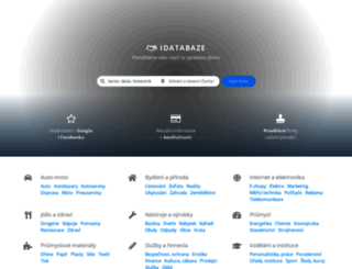 idatabaze.cz screenshot
