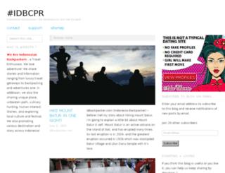 idbackpacker.com screenshot