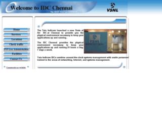 idcchennai.vsnl.com screenshot