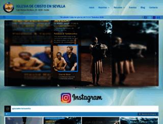 idcsevilla.org screenshot