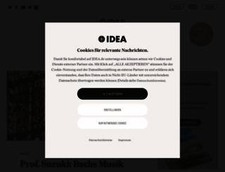idea.de screenshot
