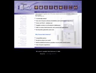 idealantennas.com.au screenshot
