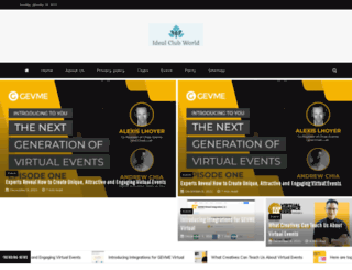 idealclubworld.com screenshot
