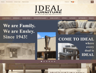 idealfurniture.biz screenshot