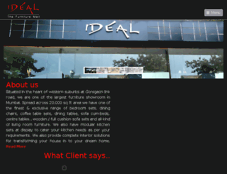 idealfurnituremall.com screenshot