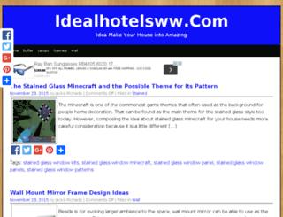 idealhotelsww.com screenshot