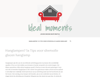 idealmoments.co.uk screenshot
