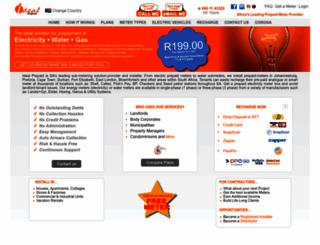 idealprepaid.co.za screenshot