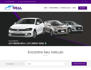 idealveiculos.com screenshot