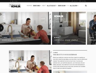 ideas.kohler.com screenshot