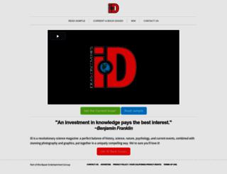 ideasanddiscoveries.com screenshot