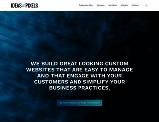 ideasandpixels.com screenshot